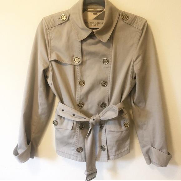 Burberry Jackets & Blazers - Burberry Short Trench Coat